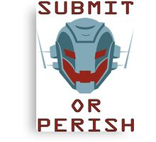 Ultron Submit or Perish Canvas Print