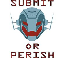 Ultron Submit or Perish Photographic Print