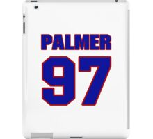 National football player Sterling Palmer jersey 97 iPad Case/Skin