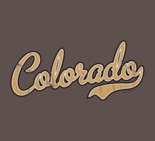 Colorado Script Font VINTAGE Gold by USAswagg
