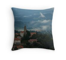 Pregarje, Slovenia Throw Pillow