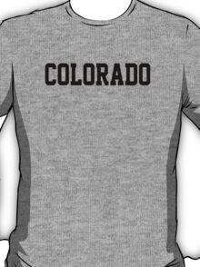 Colorado Jersey Black T-Shirt