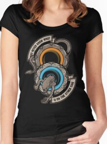 Star Portals Women's Fitted Scoop T-Shirt