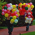 Balloons in Paradise by Swede