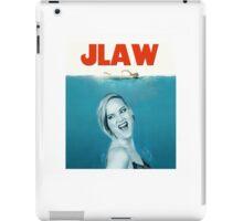 jlaw iPad Case/Skin