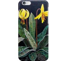 """Trout Lily""   iPhone Case/Skin"