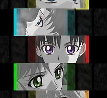 Sailor Moon Guardian's Eyes by Greven