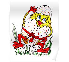 Cute Easter Card! Poster