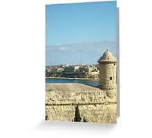 Fort walls Greeting Card