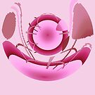 Earth Ship-Pink by Marie Van Schie
