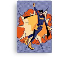 BAM Batgirl Canvas Print