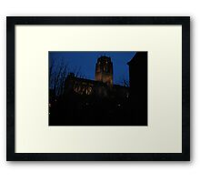 Cathedral once more Framed Print