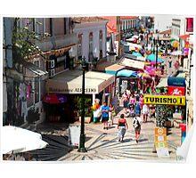 Albufeira Street Poster