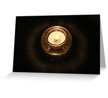 Candlelight Pt. 2 Greeting Card