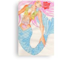 Mermaid Aquamarinna Metal Print