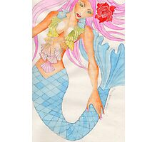 Mermaid Aquamarinna Photographic Print