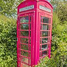 Great British Red Phone Box by Pauline Tims