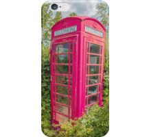 Great British Red Phone Box iPhone Case/Skin