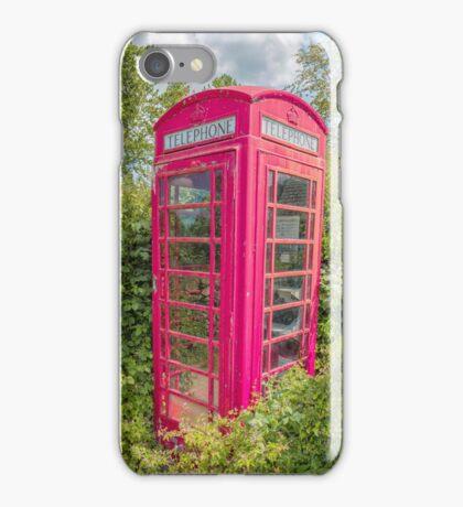 Great British Red Phone Box iPhone Case/Skin