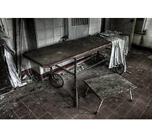 Body Trolley Photographic Print