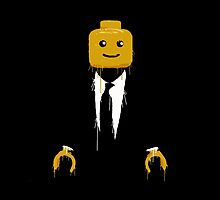 Lego man cool by GamersTshirts