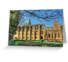 Dunfermline Abbey Ruin Greeting Card