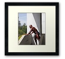 Muscle Show #2 Framed Print