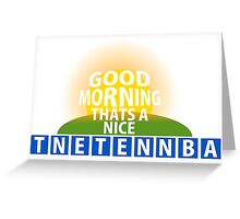 TNETENNBA Greeting Card