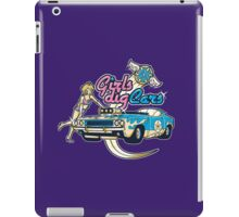 Girls Dig Cars iPad Case/Skin