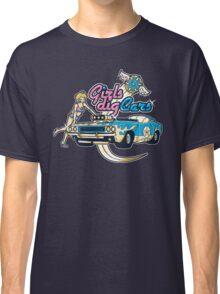 Girls Dig Cars Classic T-Shirt