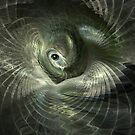 Fractal Bird on its Nest by Carol and Mike Werner