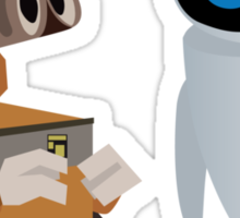 Wall-E & Eva Sticker