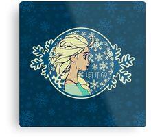 Let It Go (Frozen) (Disney) Metal Print