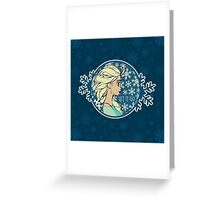Let It Go (Frozen) (Disney) Greeting Card