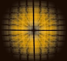 The Orange Faded Grid by Kingcobra