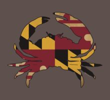 Maryland State Flag Crab VINTAGE Kids Clothes