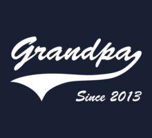 Grandpa Since 2013 T-Shirt