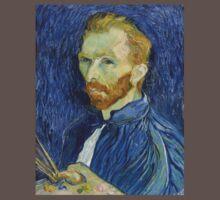 Self Portrait of Vincent Van Gogh Kids Clothes