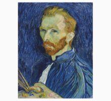 Self Portrait of Vincent Van Gogh One Piece - Long Sleeve