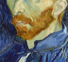 Self Portrait of Vincent Van Gogh Sticker