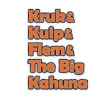 Kruk & Kuip & Flem & The Big Kahuna Photographic Print