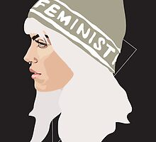 Feminist (Silver) by Anna McKay