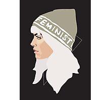 Feminist (Silver) Photographic Print