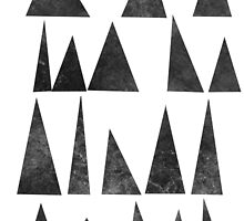 Mountains and Triangles by Jan Weiss