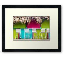 Bar in Bermuda Framed Print