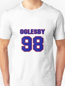 National football player Alfred Oglesby jersey 98 T-Shirt