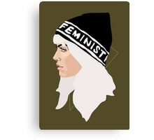 Feminist (Gold) Canvas Print