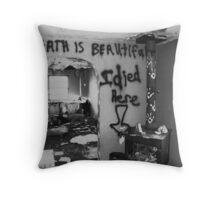 """Death Hotel"" Throw Pillow"