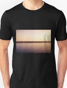 North sea rock groyne T-Shirt