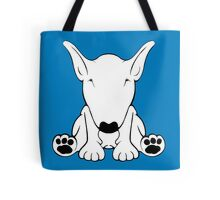 English Bull Terrier Forward Sit 2 Tote Bag
